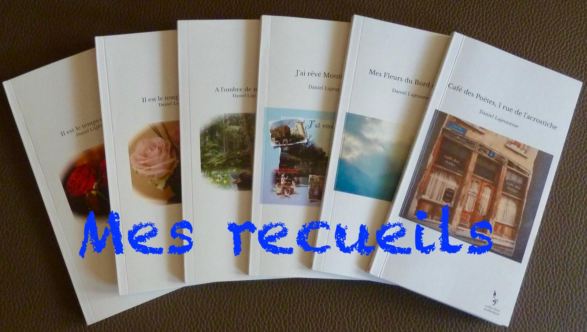 Commande recueils